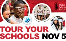 Join Us For 'Tour Your Schools' On Monday, November 5