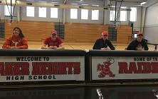 Four Raider Athletes Sign National Letters of Intent