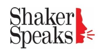 Shaker Speaks logo