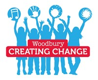 Woodbury Creating Change logo