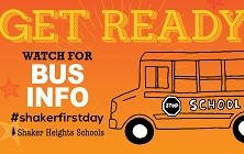 Get Ready for School: Watch for Bus Information