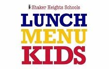 Lunch Menu Kids, February 19-22, 2019