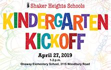 Join Us for Shaker Heights Schools Kindergarten Kickoff!