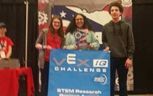 MS Robotics Club Teams Excel at State Competition; One Team Heading to World Championship