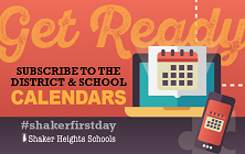 Sync Your Mobile Device with the Shaker Schools Calendar