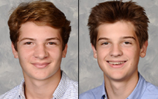 Sophomores Harry Carroll and Evan Richards Win Jewish History Prize
