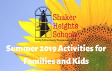 FACE Summer 2019 Activities List