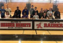 Seven Raider Student-Athletes Make College Choices