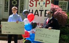 """Senior Thomas Smyers Awarded Prestigious """"Stop the Hate"""" Prize"""