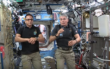Watch the Video of Shaker's In-Flight Education Downlink with NASA Astronauts