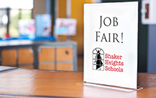 Want to Work at Shaker? Attend Our Job Fair Dec. 9