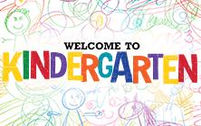 Welcome to Kindergarten drawing