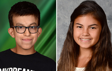Brother & Sister Honored at NEO Science and Engineering Fair
