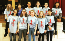 Middle School Students Earn Honors in Power of the Pen Competition