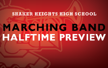 Marching Band Halftime Preview title