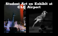 Photography Students' Work on Exhibit at CLE Airport