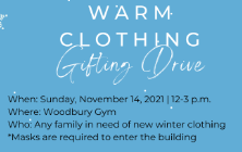 Shaker Heights Schools to Host a Warm Clothing Gifting Drive on November 14, 2021