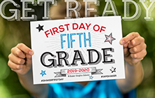 Print Your Shaker First Day Sign!