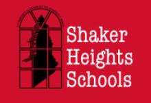 shaker logo red