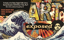 Art Exposed Exhibition Opening Night is Friday, May 11
