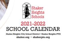 Shaker Heights School Calendar