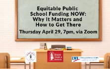 Equitable School Funding Webinar on April 29