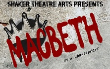 SHHS Theatre Arts Presents Macbeth, 7 p.m., November 14-16