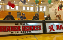 Five Seniors Sign National Letters of Intent