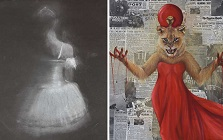 SHHS Student Artists Noa Marcus and Sophia Geisler Earn Medals in National Scholastic Competition