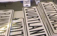 Shaker street signs