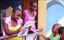 SHHS Portfolio Students Send Portraits to Children in Tanzania