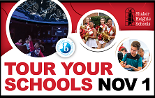 Sign Up to Tour Your Schools on November 1