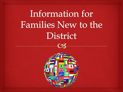 SHHS PTO Information for Families New to the District
