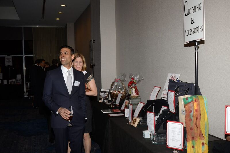Red and white 2017 party pictures - silent auction