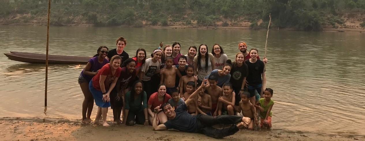 High School students in Laos