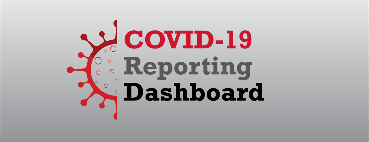 COVID-19 Reporting Dashboard Graphic