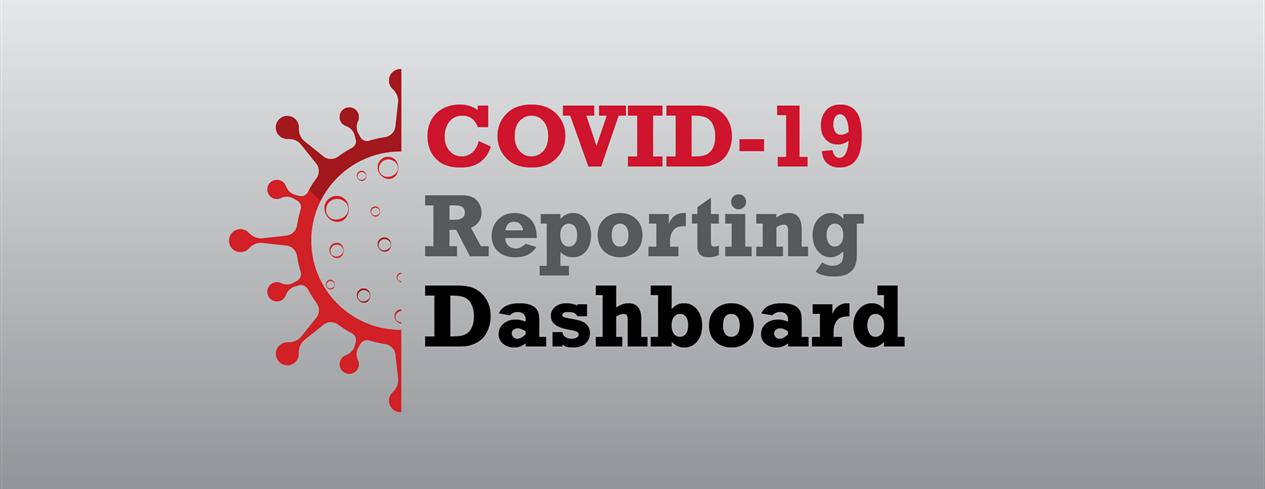 COVID-19 Reporting Dashboard Graphic