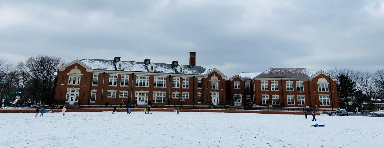 Winter recess at Onaway