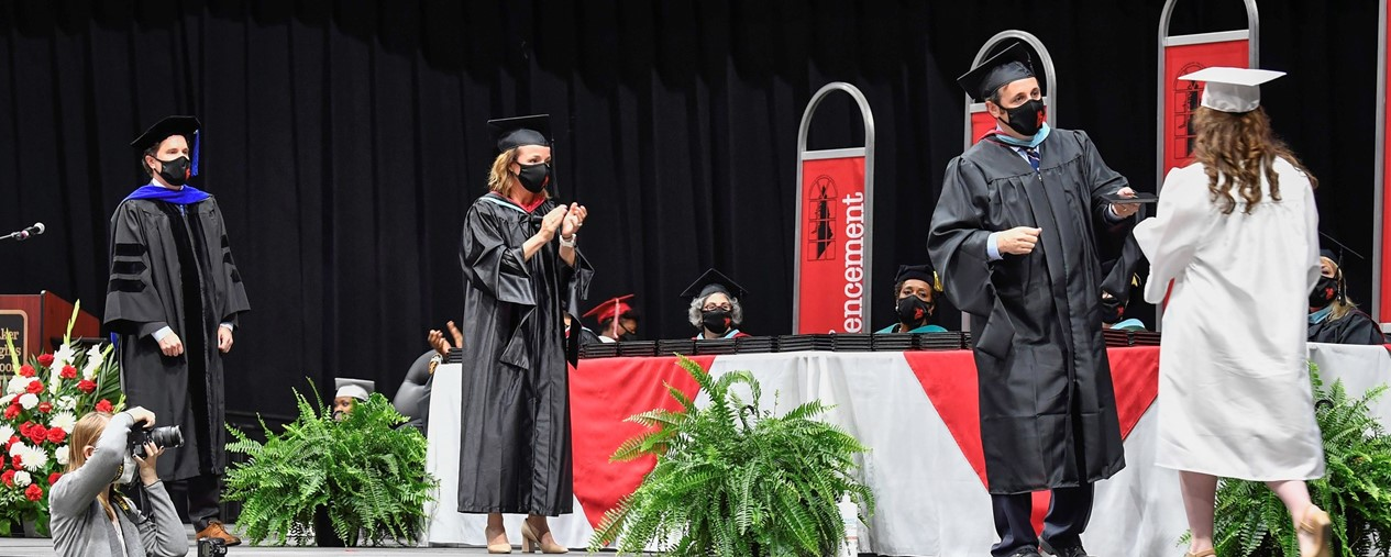 Class of 2021 commencement ceremony