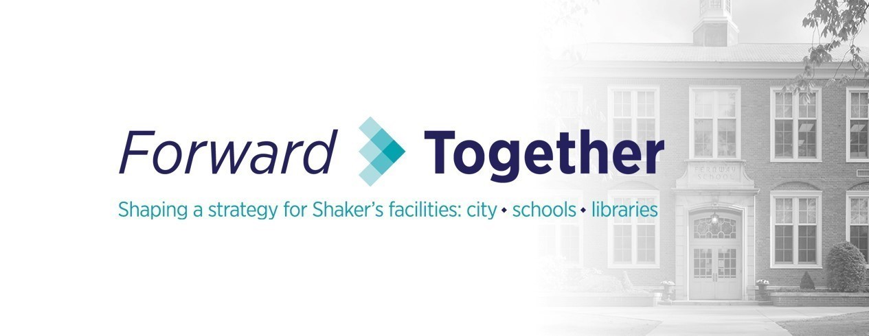Forward Together logo and school building