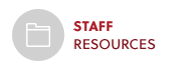 Staff Resources Button